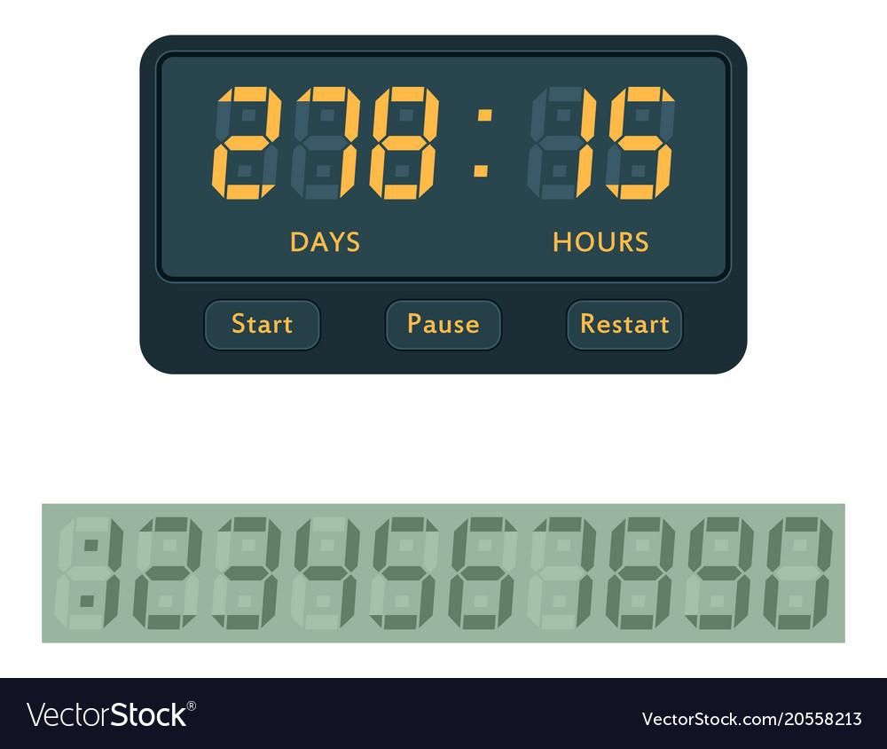 Timer clocks watch stopwatch countdown
