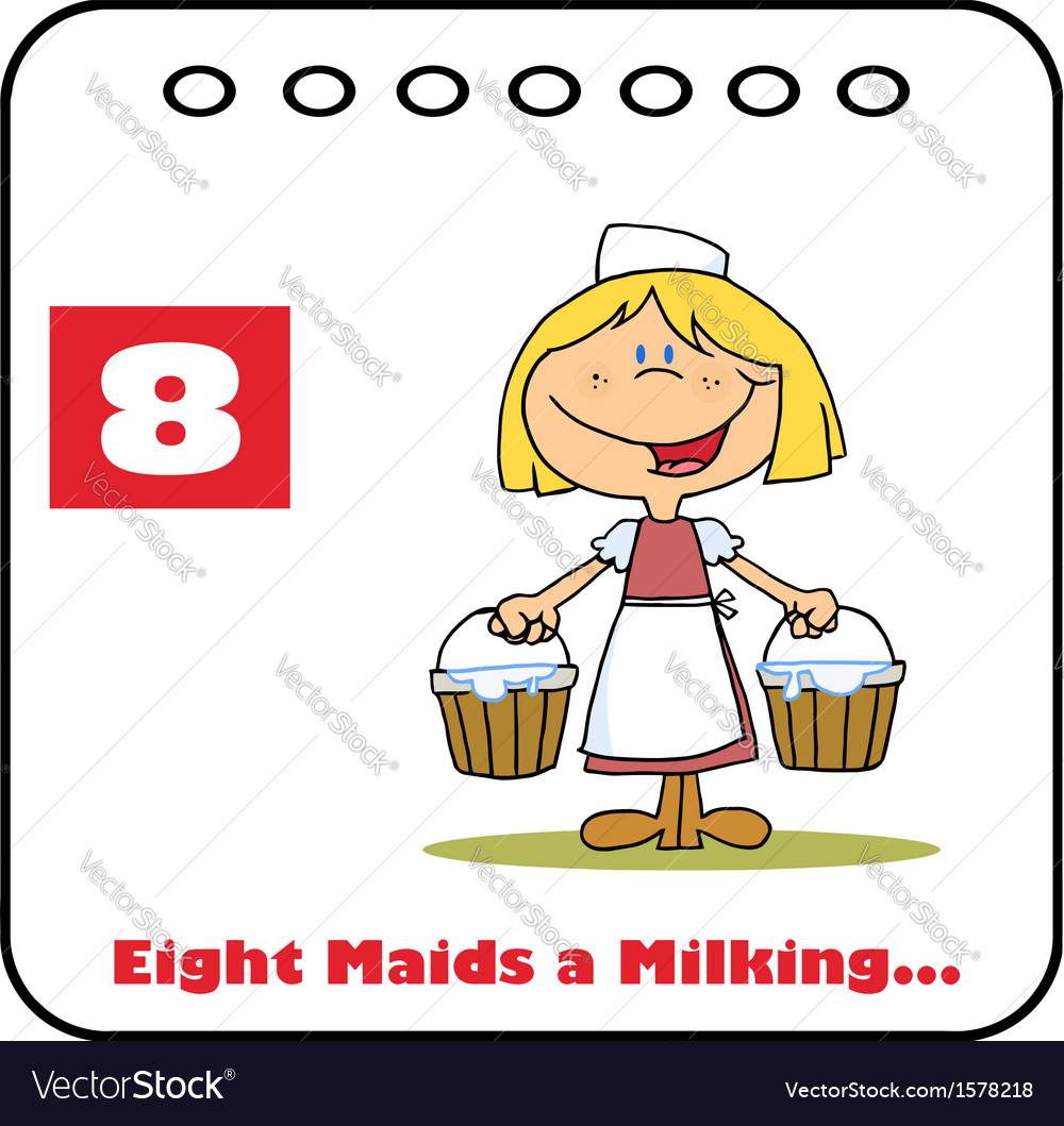Animated Maid Getting Milked