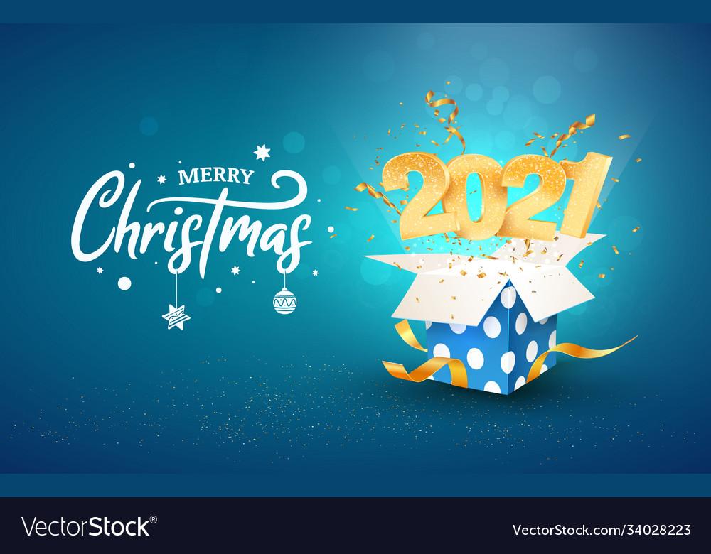 2021 happy new year xmas
