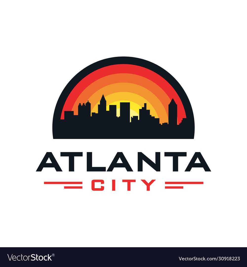 Atlanta city logo design