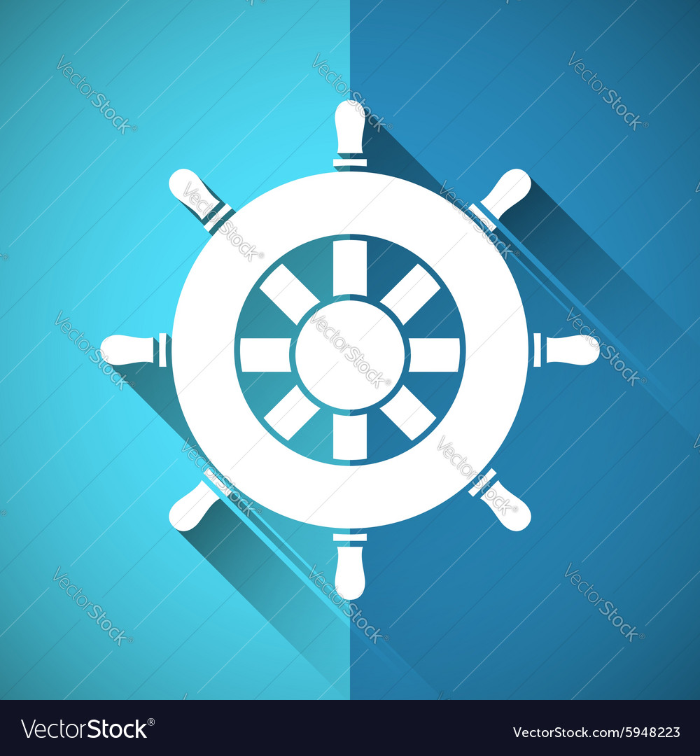 Rudder symbol
