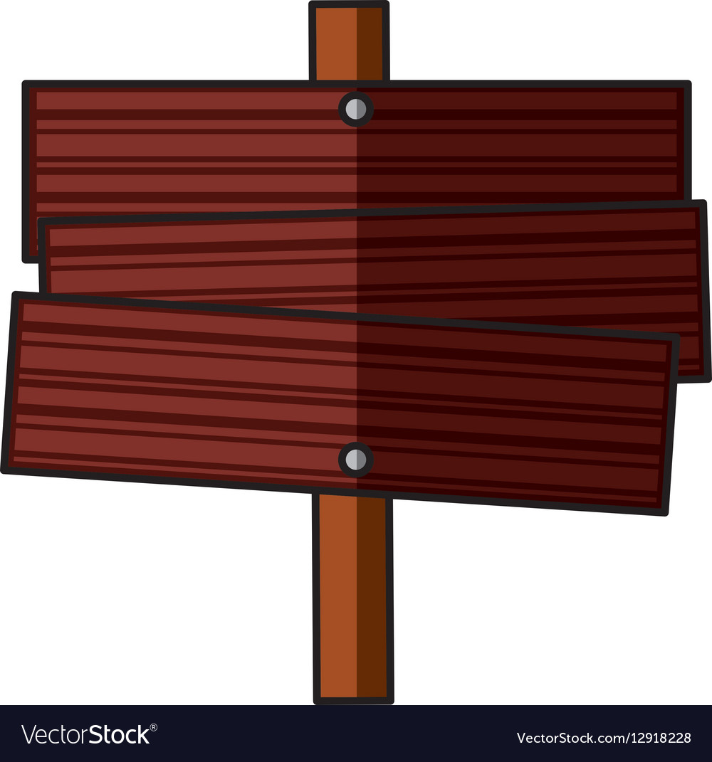 Camping wooden label icon vector image