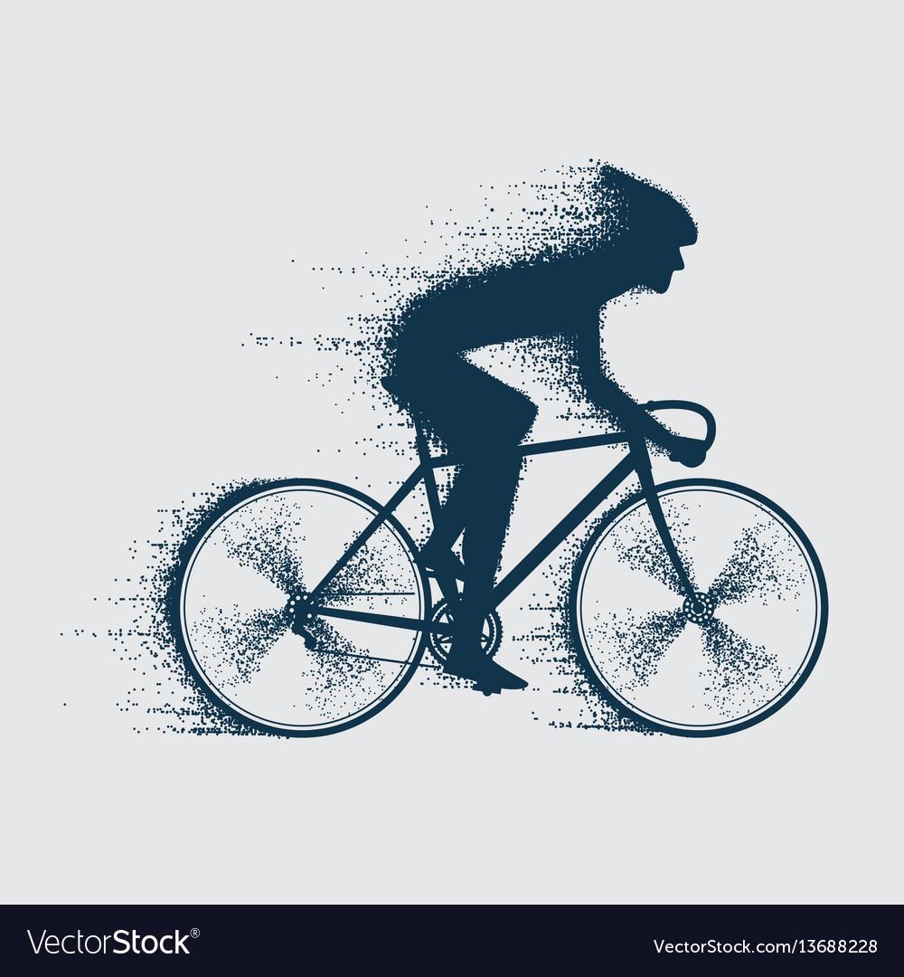 Cyclist sport bicyclist