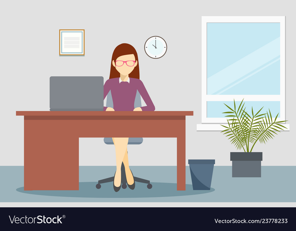 Design of business office environment