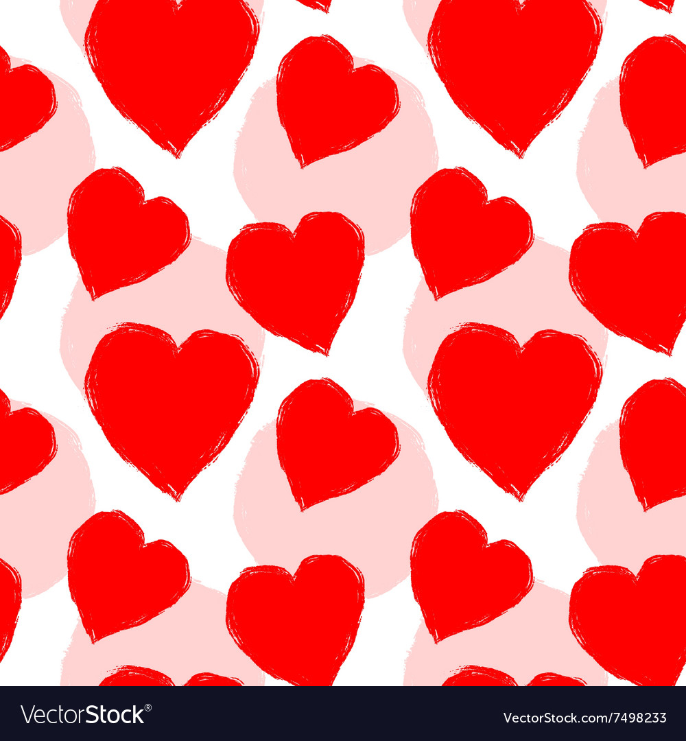 Seamless pattern for Valentines Day