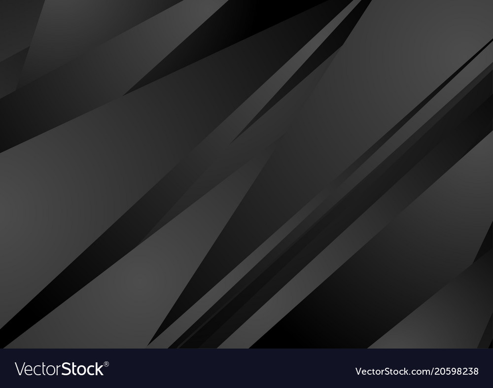 Black stripes abstract tech minimal background vector image