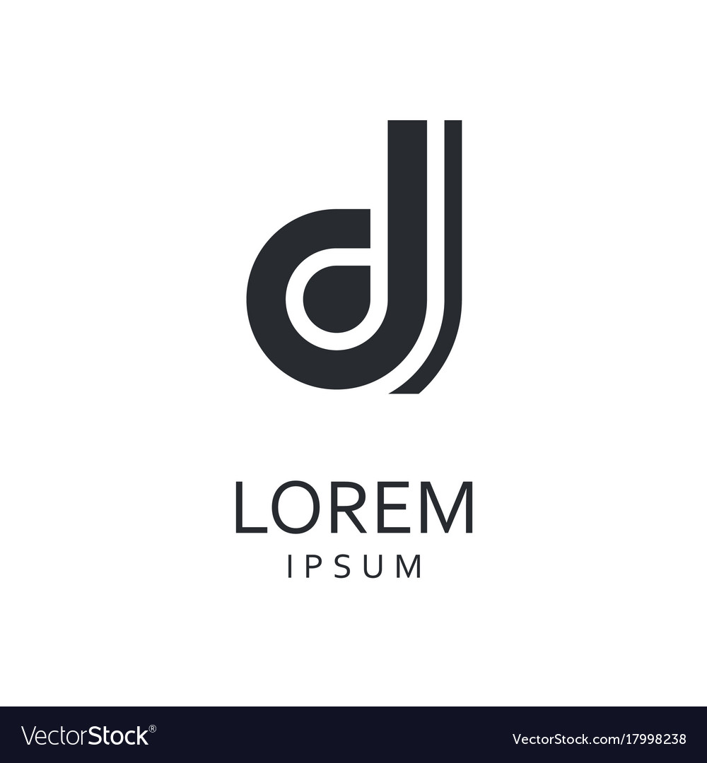 D letter logo icon royalty free vector image vectorstock d letter logo icon vector image thecheapjerseys Gallery