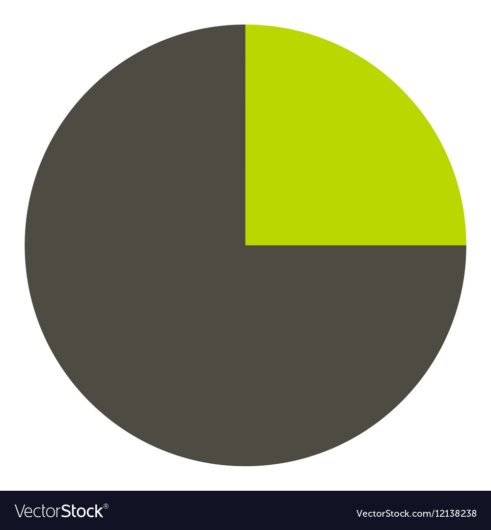 Half diagram infographics flat style