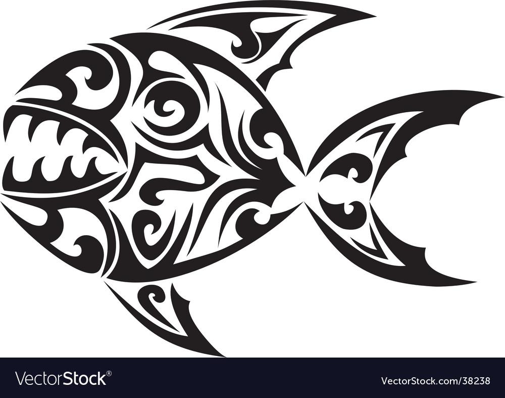 tatuaże wzory piranie
