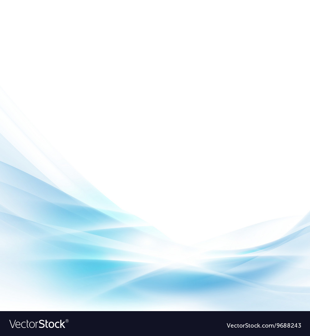 Abstract spread blue wave background
