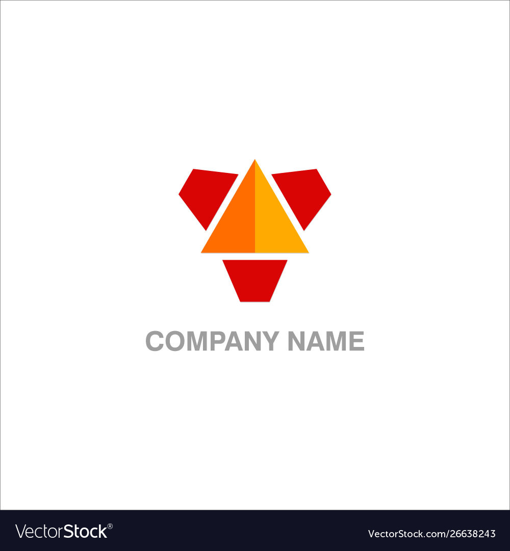 Triangle technology design logo