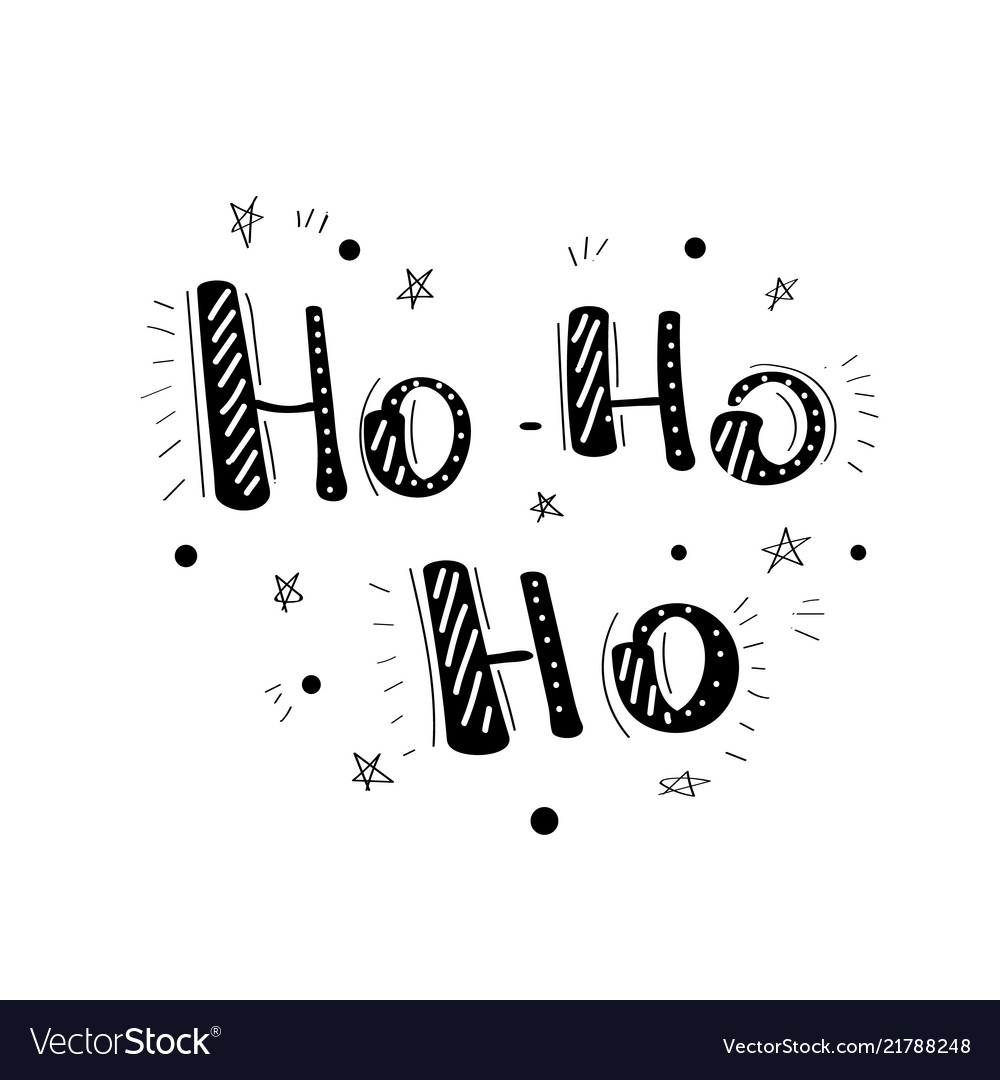 Handwritten christmas wishes for holiday greeting vector image m4hsunfo