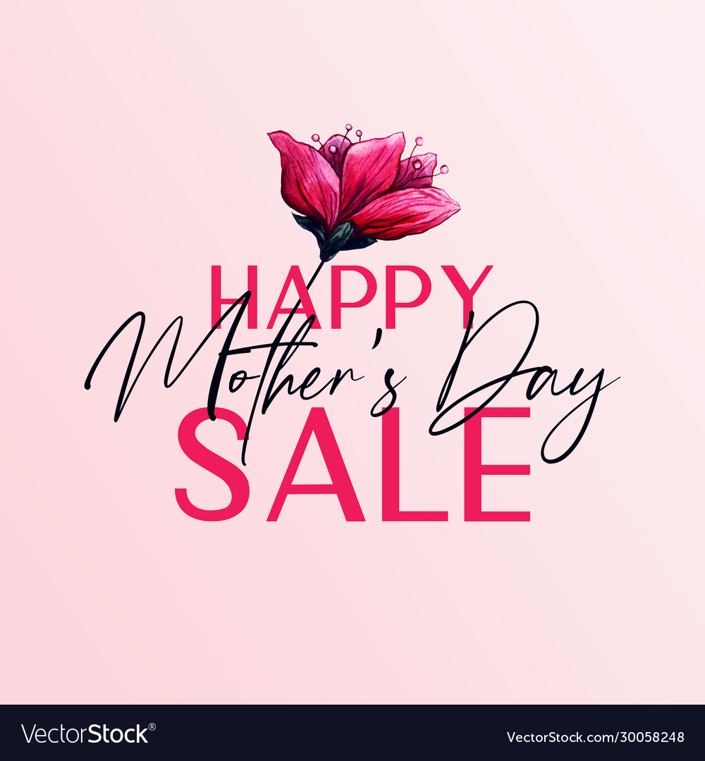 Happy mothers day sale banner design