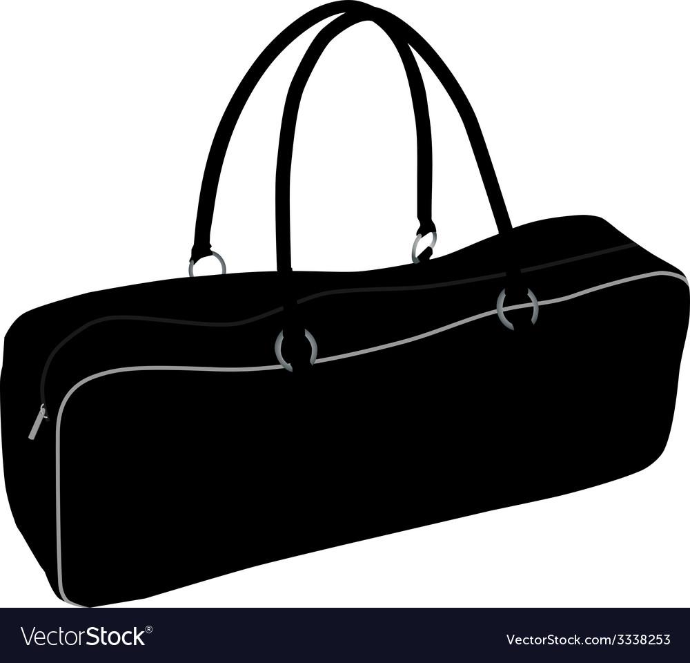 Sport bag vector image