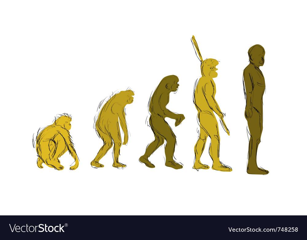 Evolution handdraw