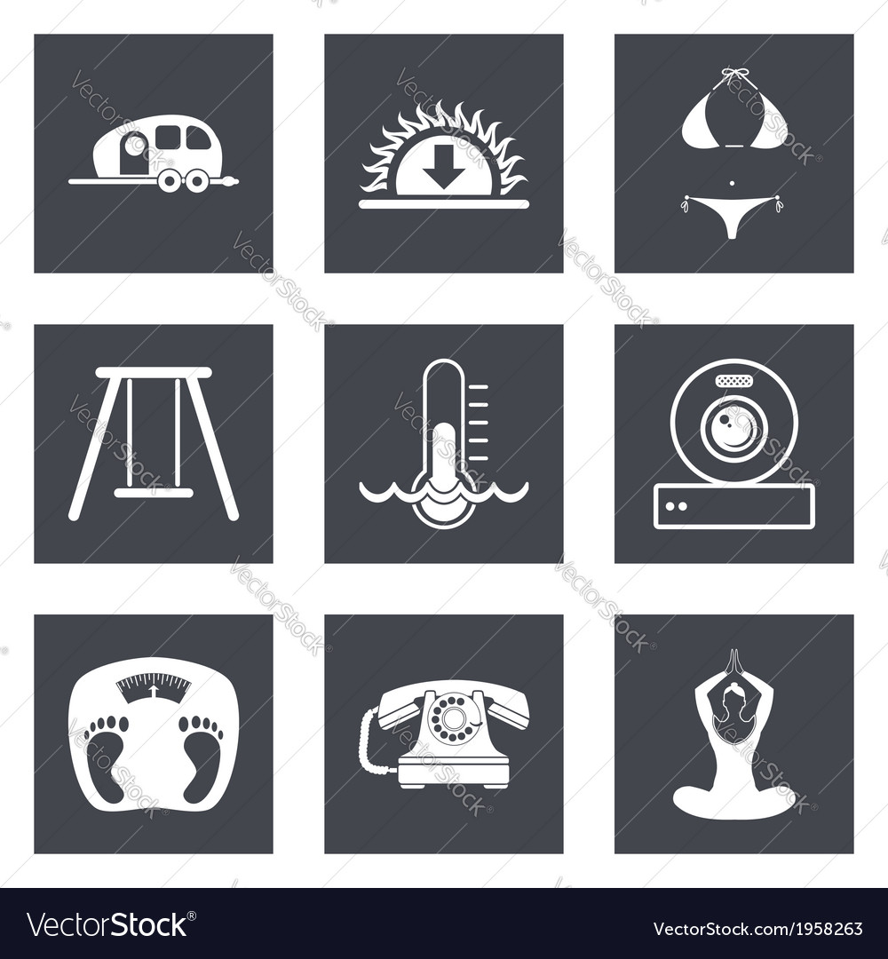 Icons for Web Design set 10