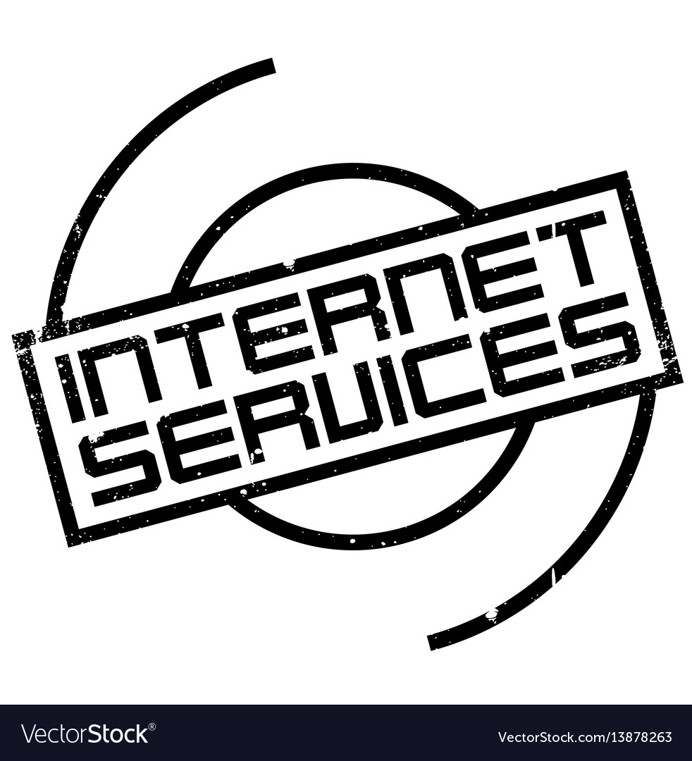 Internet services rubber stamp