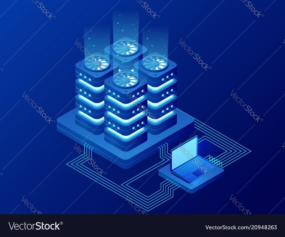 Isometric database network management big data