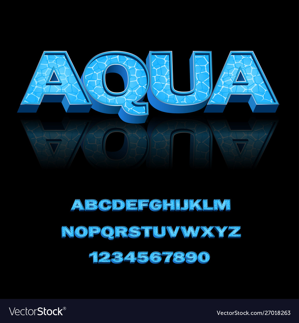Modern font for design print advertising in the