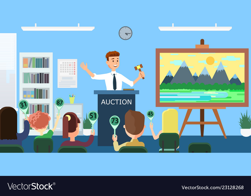 Auction and bidding flat