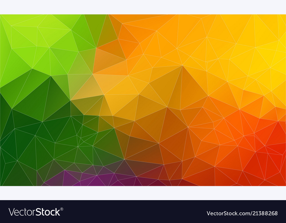 fresh color flat triangle backround royalty free vector
