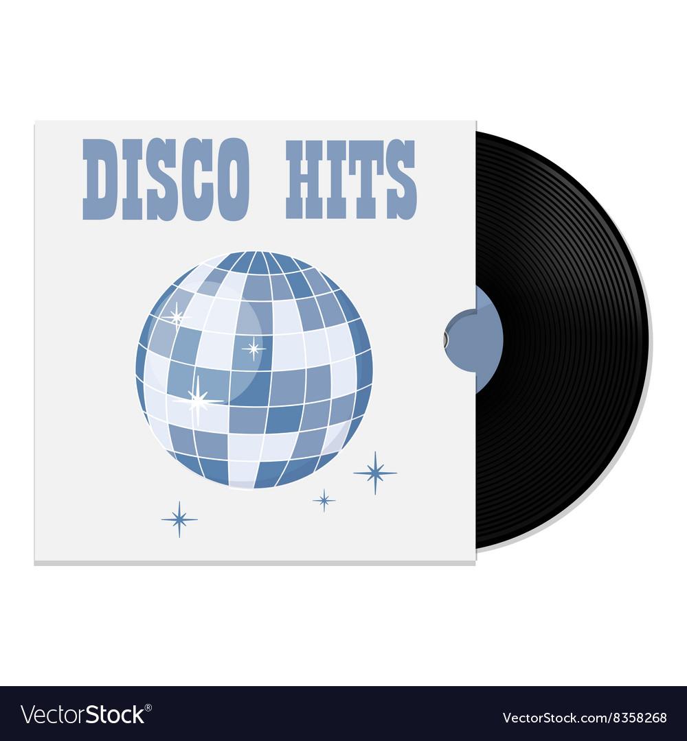 Vinyl record in cover