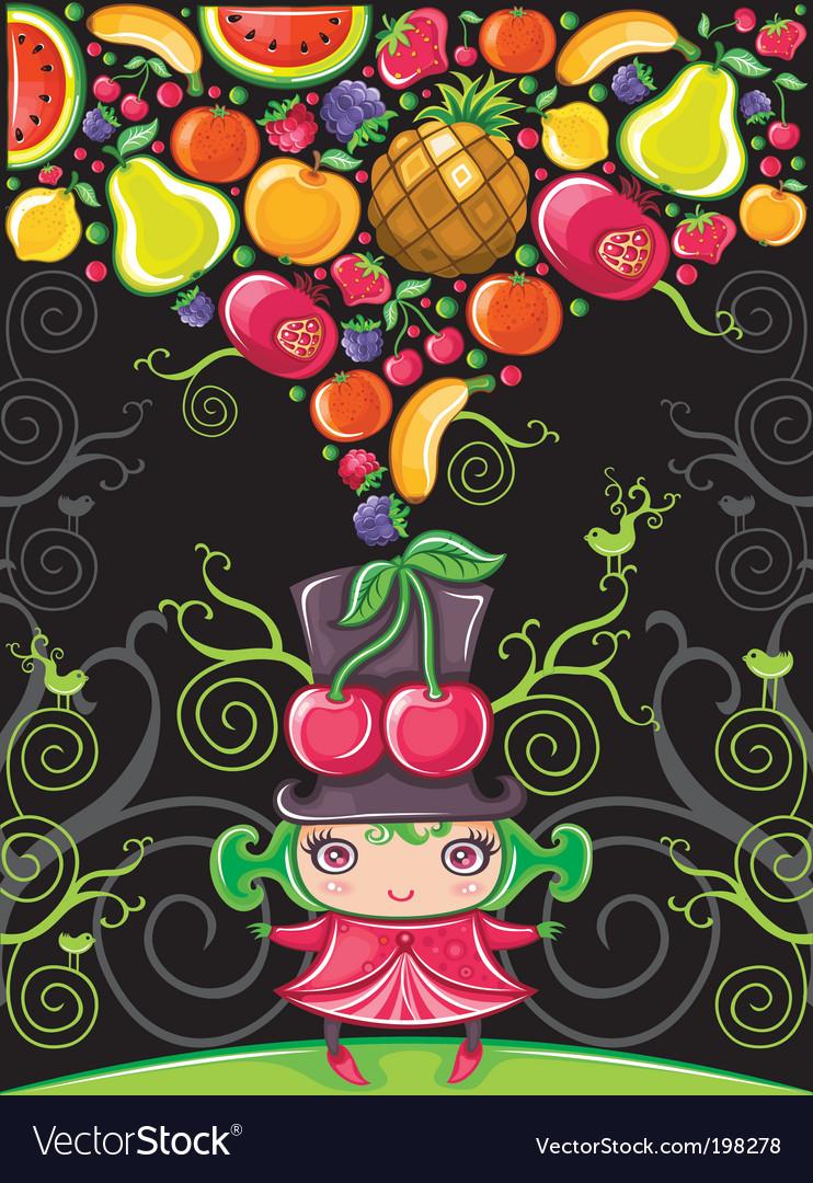 Cherry girl fruity
