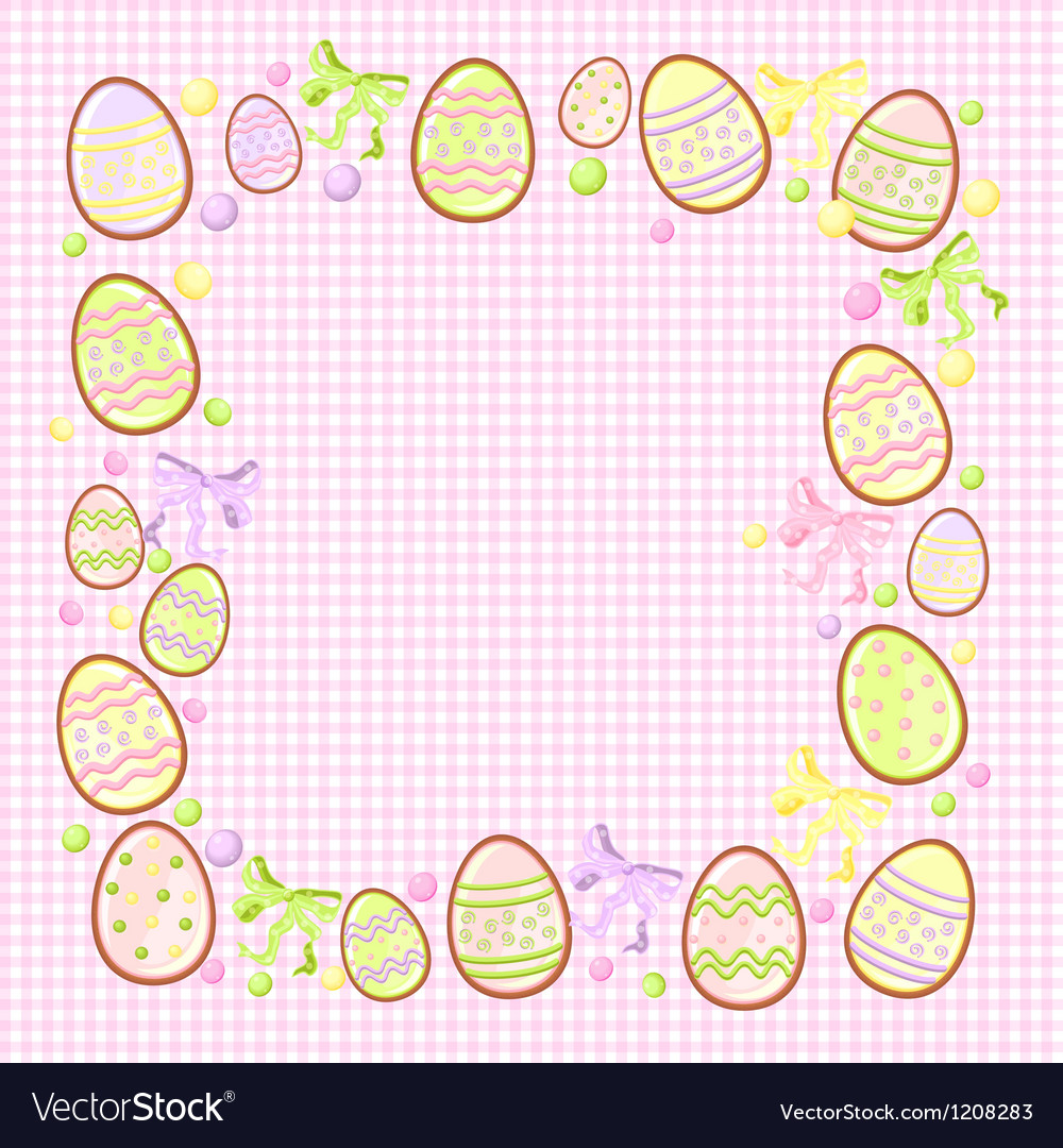 background for messages with egg rose royalty free vector