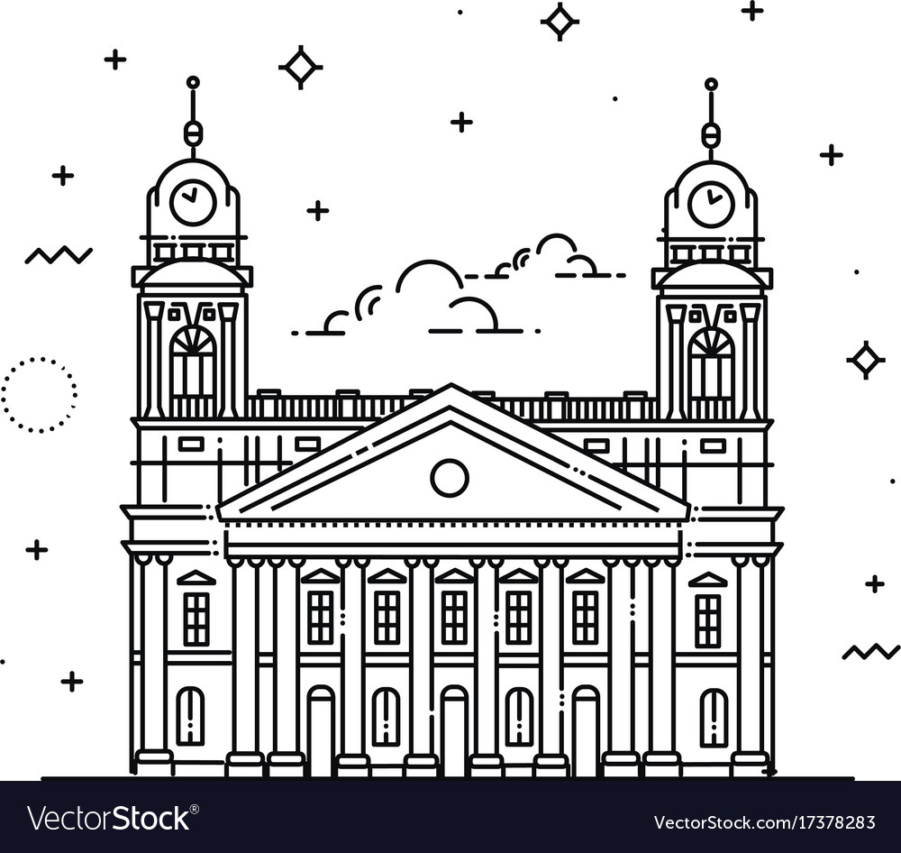 Reformed great church debrecen hungary