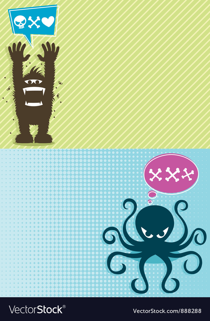 Monster Backgrounds