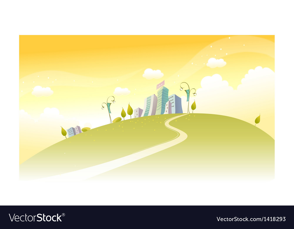 Path towards city