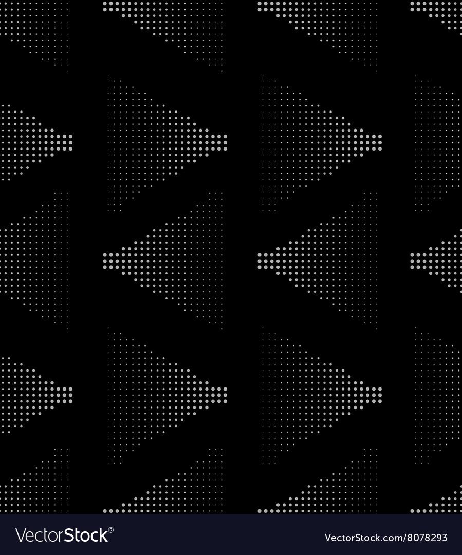 White on black seamlesss pattern