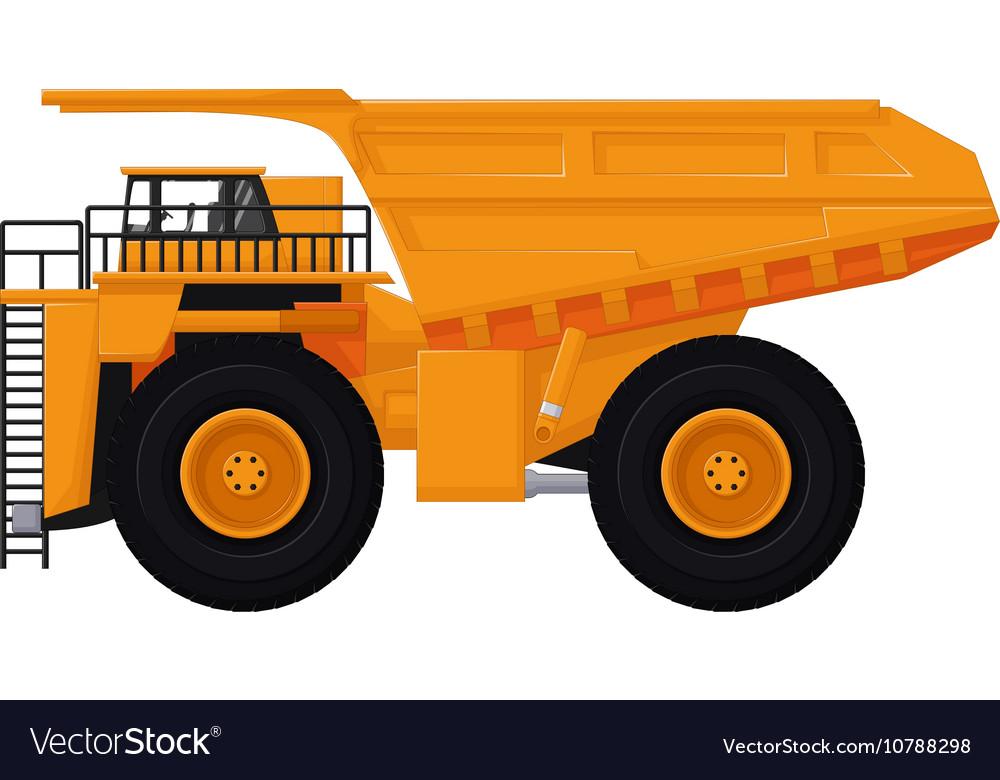 dump truck cartoon for you design royalty free vector image rh vectorstock com cartoon dump truck pictures cartoon dump truck drawing