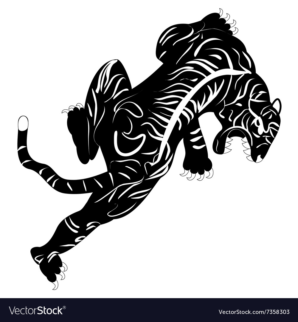 Image of tiger tattoo