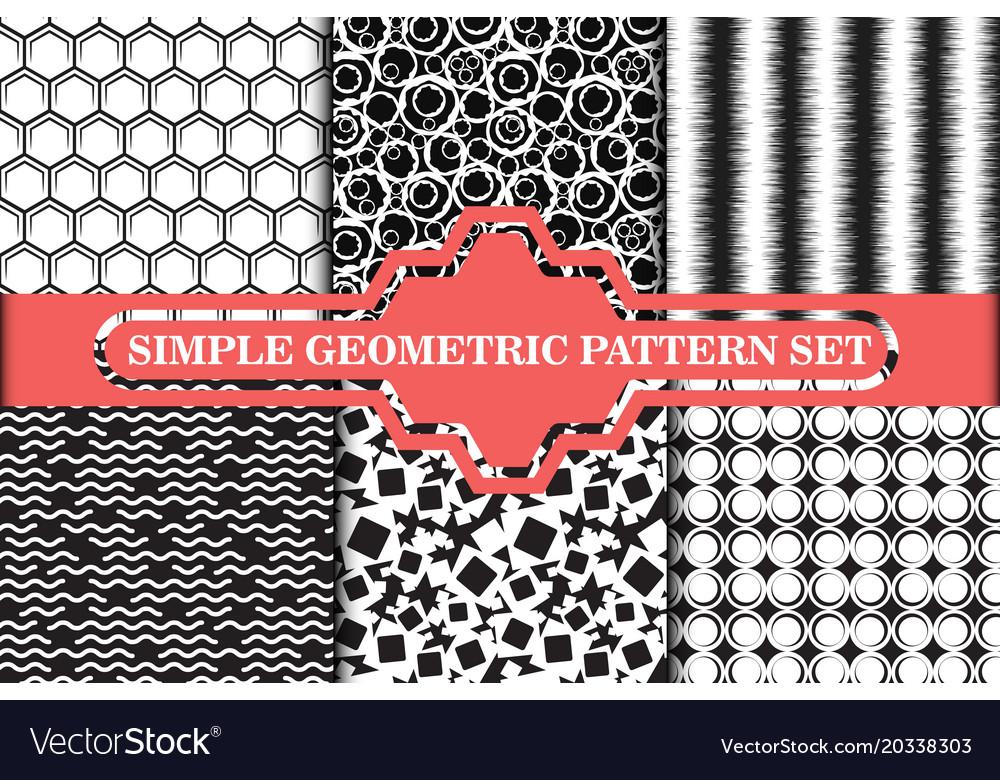 Minimalist simple geometric seamless pattern