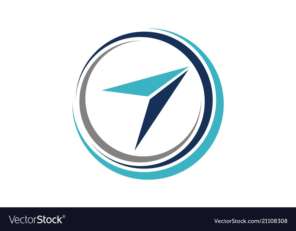 Aviation training logo design template