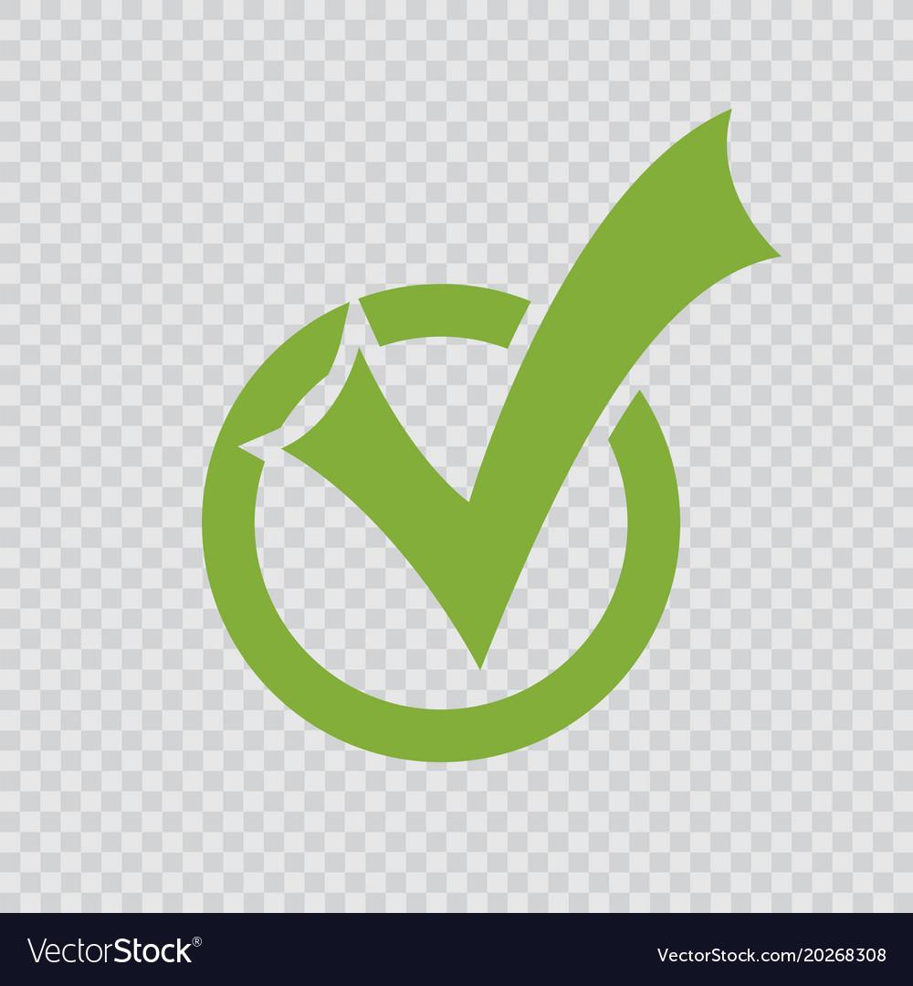 Green checkmark icon