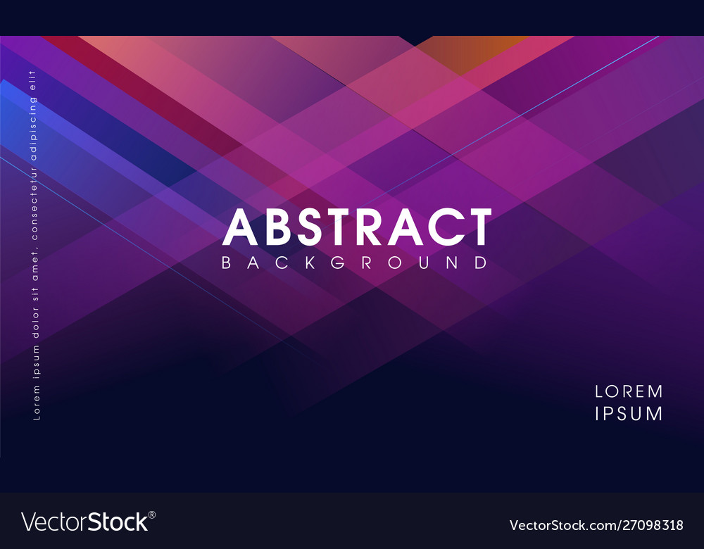 Abstract modern geometrical background purple