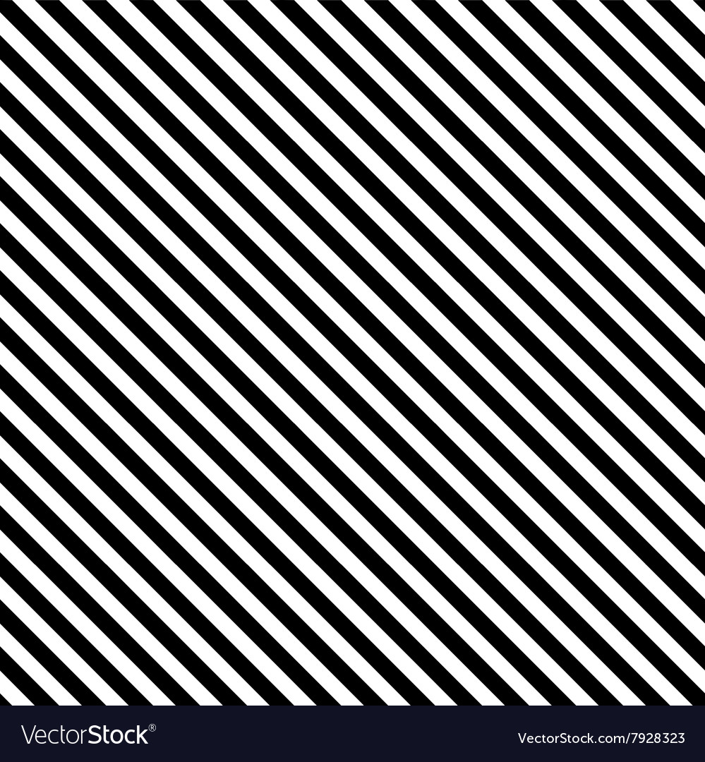 Diagonal stripe seamless pattern vector image