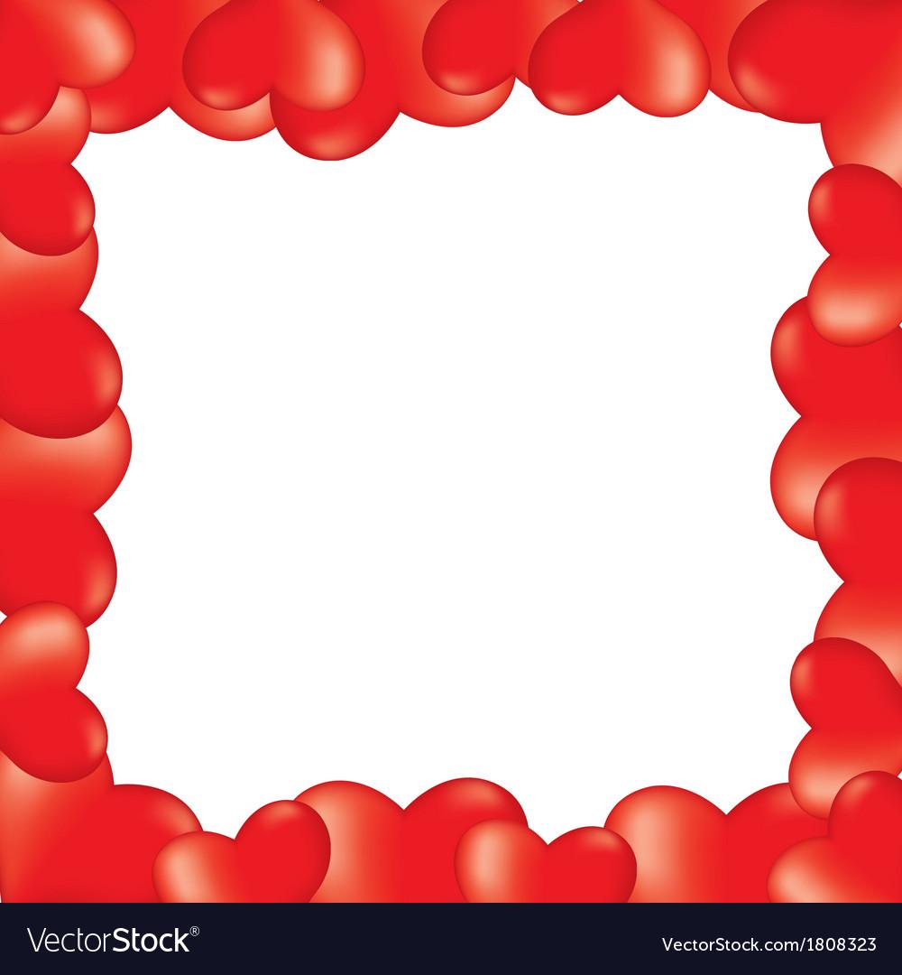Heart 3d border