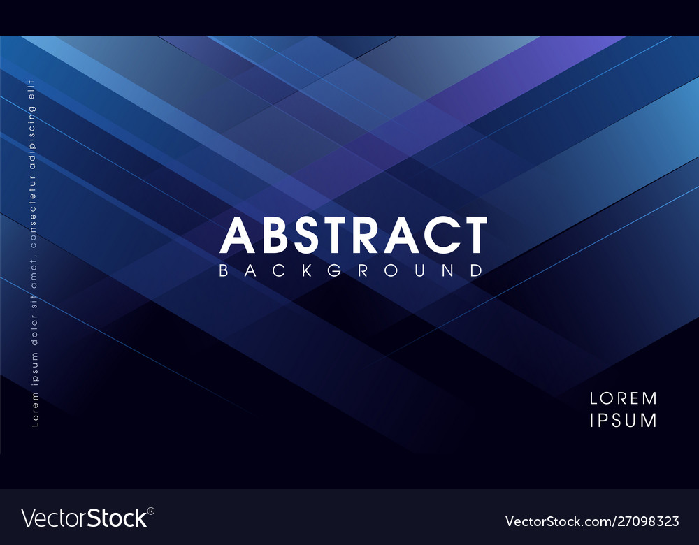 Modern abstract blue geometrical background