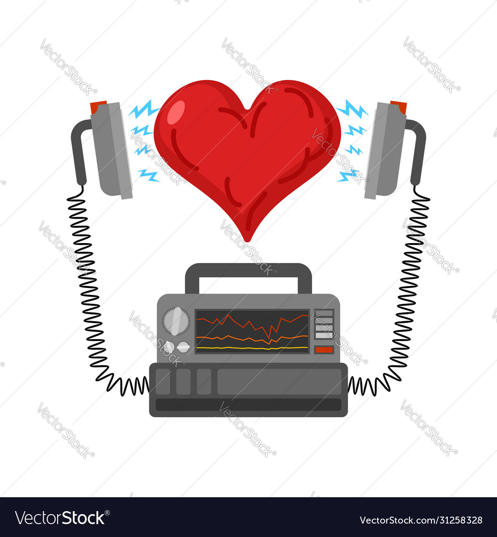 Defibrillator and heart medical device