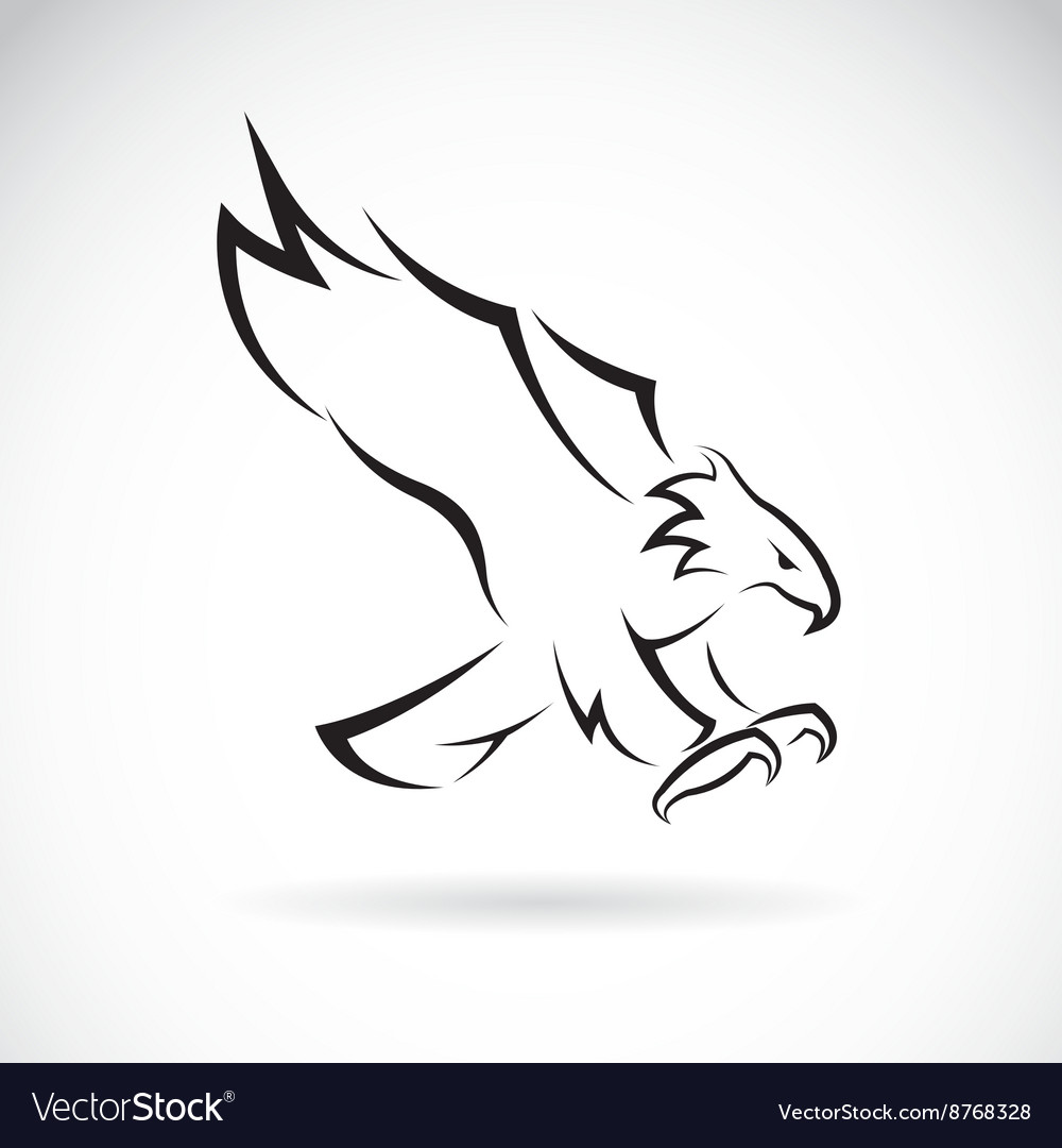 Image of an eagle design vector image