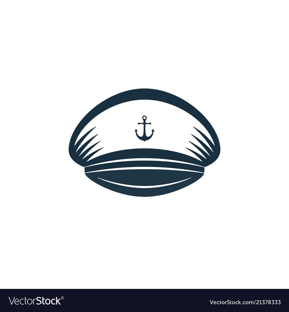Captains hat icon design