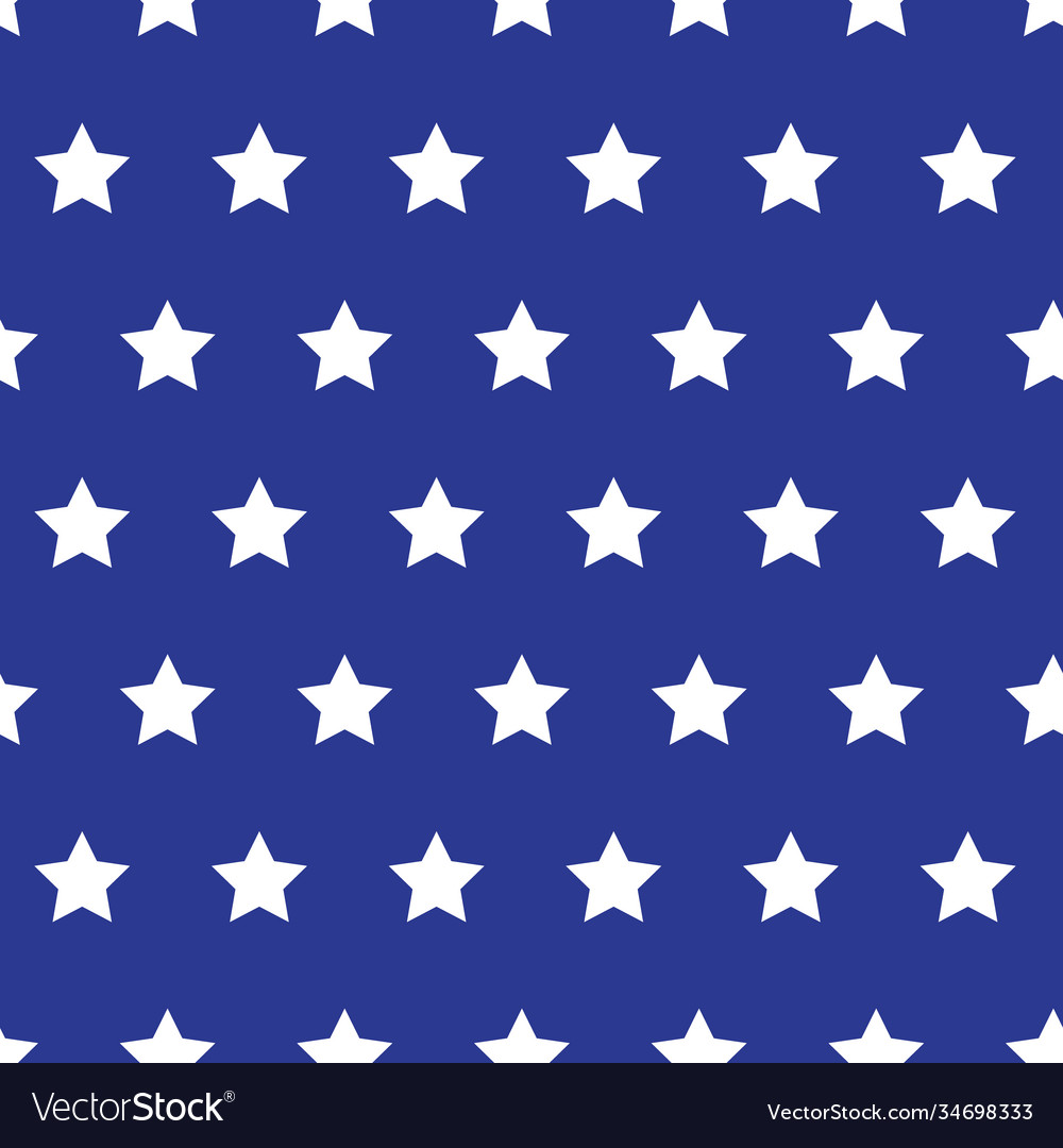 White stars on blue background grunge style