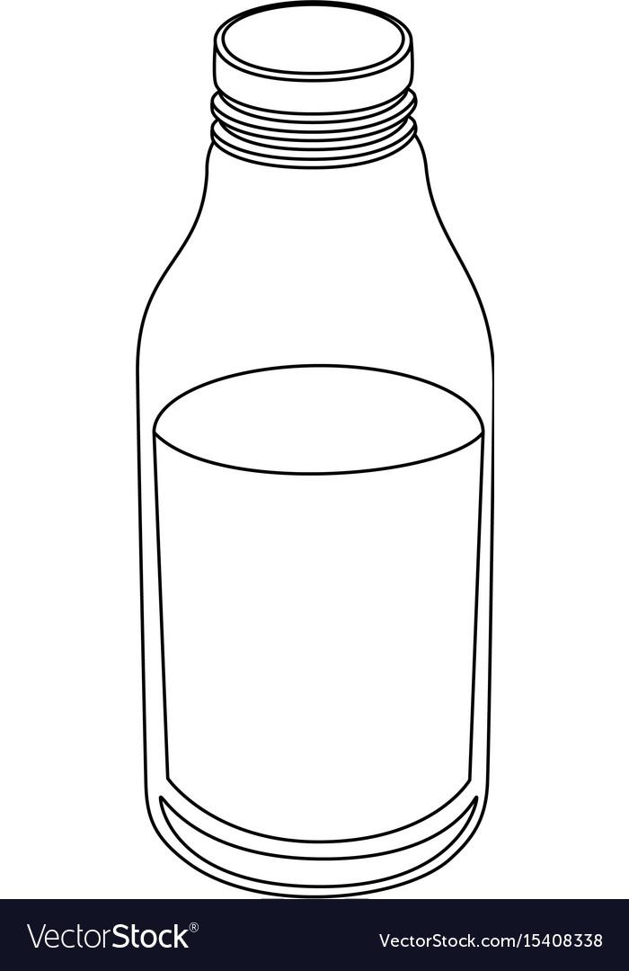 Isolated juice glass