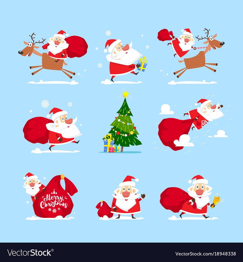 Santa claus set image
