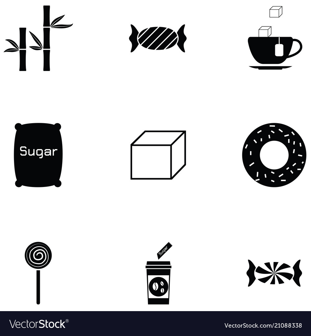 Sugar icon set