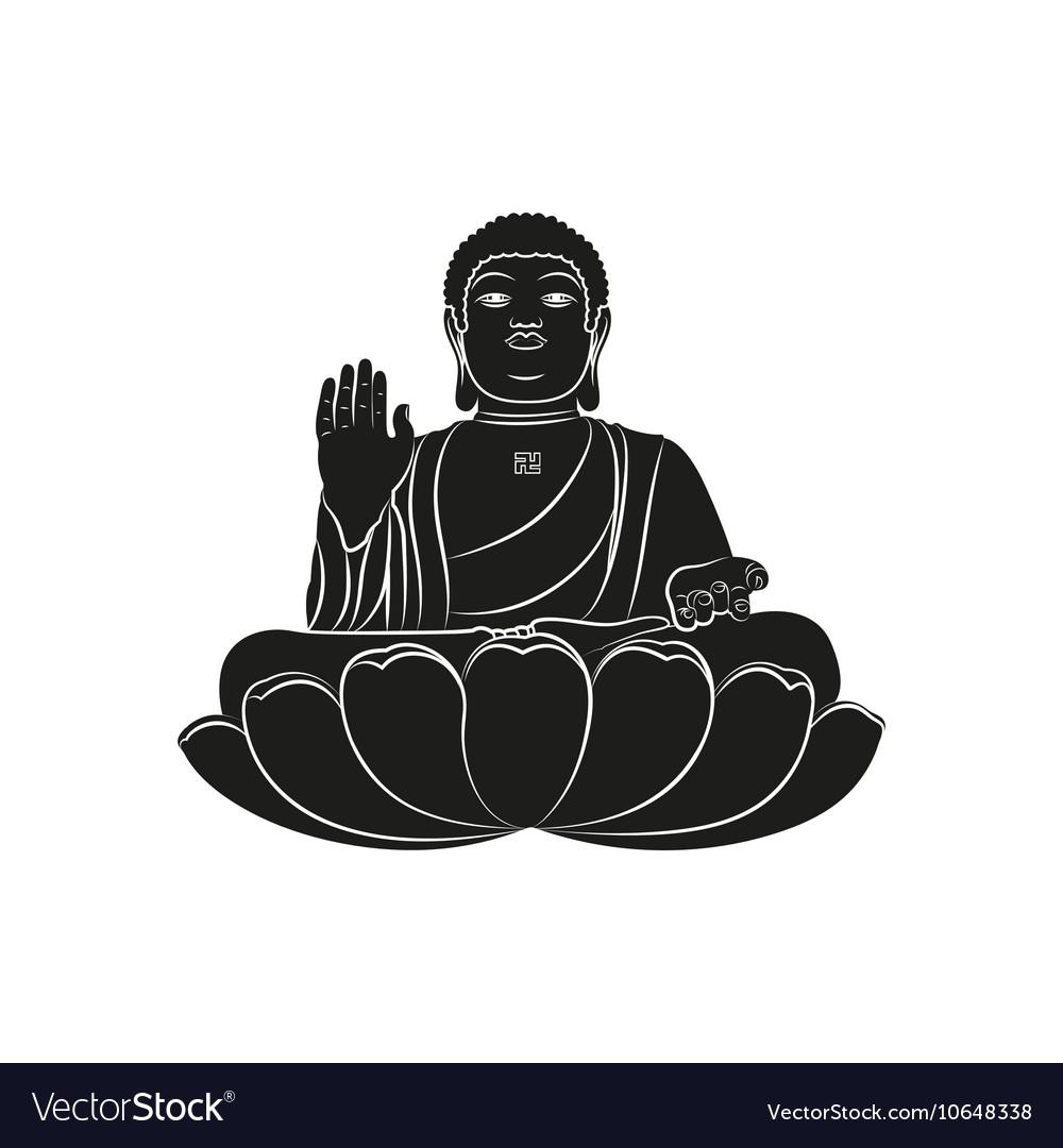 Tian Tan Buddha isolated