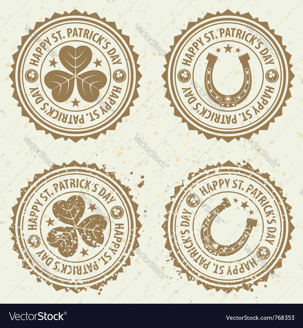 St patricks day stamps